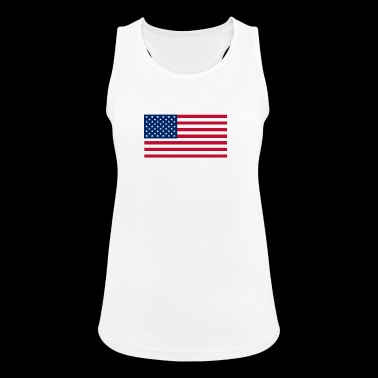 USA - Women's Breathable Tank Top