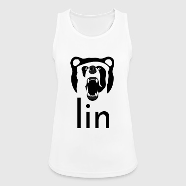 Berlin Art Abstract Bear Gift Design Graphic - Women's Breathable Tank Top