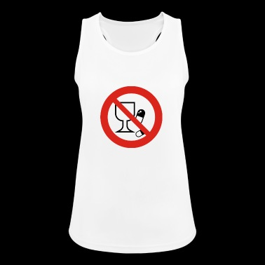alcohol - Women's Breathable Tank Top
