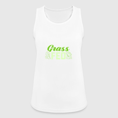 Grass Fed grass fed - Women's Breathable Tank Top