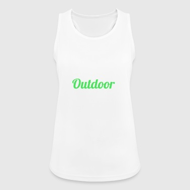 Outdoor Blogger - Frauen Tank Top atmungsaktiv