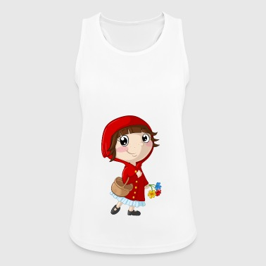 Little Red Riding Hood cartoon - Women's Breathable Tank Top