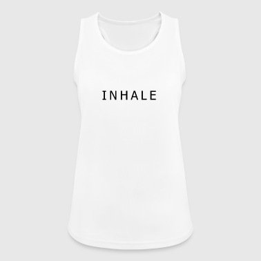 INHALE WHITE - Top da donna traspirante