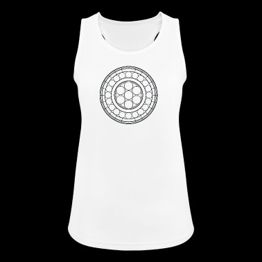 stained glass - Women's Breathable Tank Top