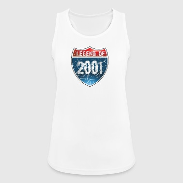 Legend Of 2001 - Women's Breathable Tank Top