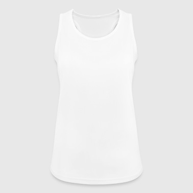 ALL ASS NO GAS WHITE - Pustende singlet for kvinner