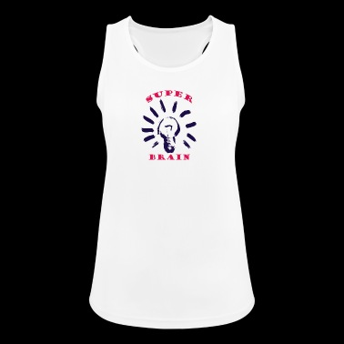 SuperBrainPink - Frauen Tank Top atmungsaktiv