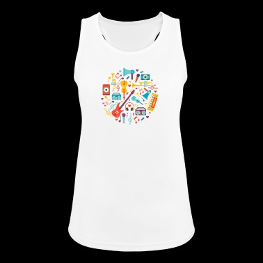 Music instruments - Women's Breathable Tank Top
