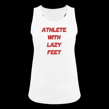 athlete feet - Women's Breathable Tank Top