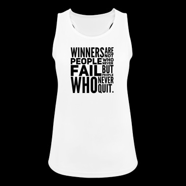Motivational Saying WINNERS gift motivational - Women's Breathable Tank Top