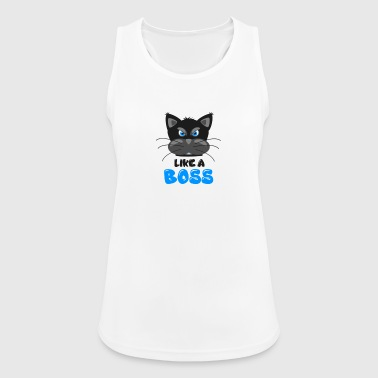 CAT | LIKE A BOSS - Pustende singlet for kvinner