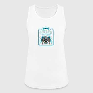 Outlaw Custom Motors Bike - Women's Breathable Tank Top