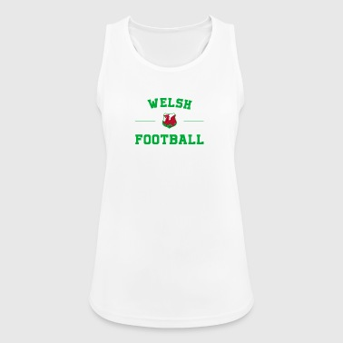 Wales Football Shirt - Wales Soccer Jersey - Women's Breathable Tank Top