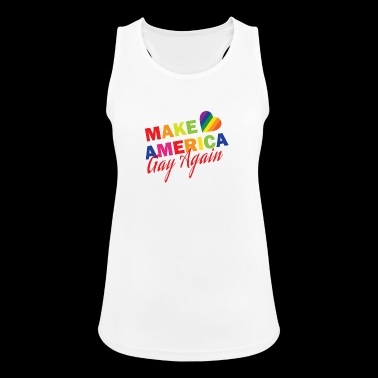 Gay America Homosexuality Homo - Women's Breathable Tank Top