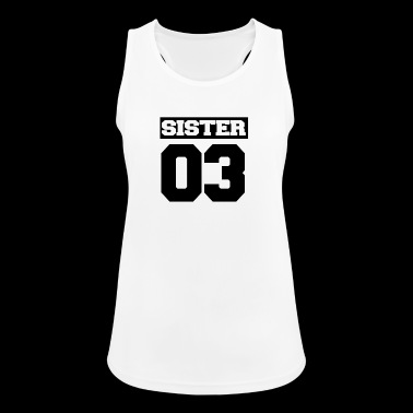 Sister shirt for siblings - Women's Breathable Tank Top