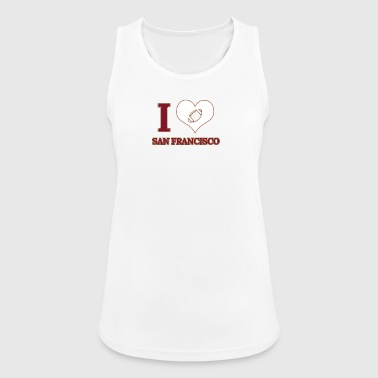 I love San Francisco - Women's Breathable Tank Top