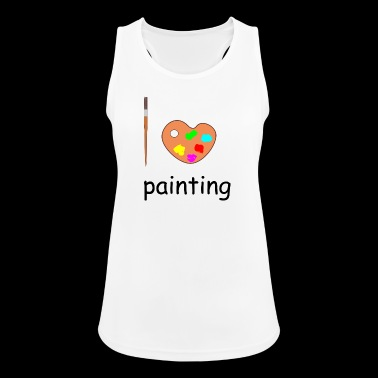 painting - Women's Breathable Tank Top