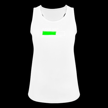 Nerdy motif, The motive for computer freks - Women's Breathable Tank Top