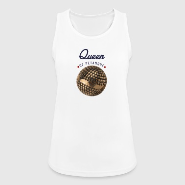 Queen of Petanque - Frauen Tank Top atmungsaktiv