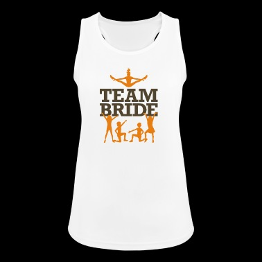 Team Bride! - Women's Breathable Tank Top