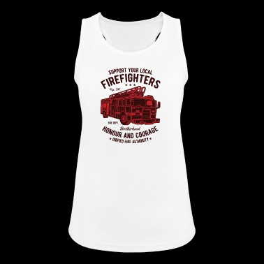 Firefighter Firefighter Firefighter Christmas - Women's Breathable Tank Top