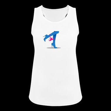Pretty Woman's Legs With A Thong - Women's Breathable Tank Top