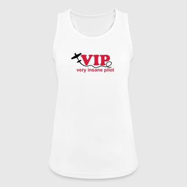Pilot airplane crazy aerobatics sport gift - Women's Breathable Tank Top