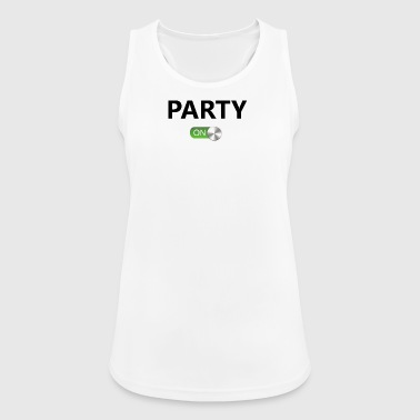 party on - Women's Breathable Tank Top