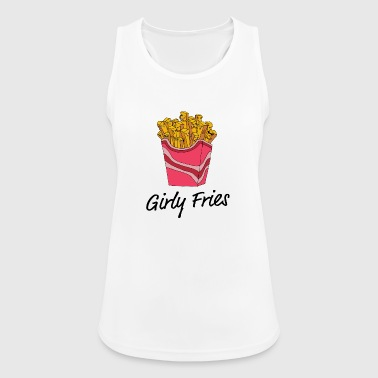 girly Fries - Women's Breathable Tank Top