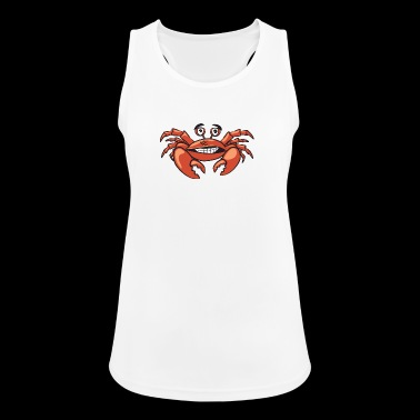 crab - Women's Breathable Tank Top