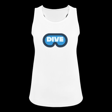 Scuba diving / Diving: Dive diving mask - Women's Breathable Tank Top