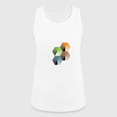 Hexagon - Frauen Tank Top atmungsaktiv