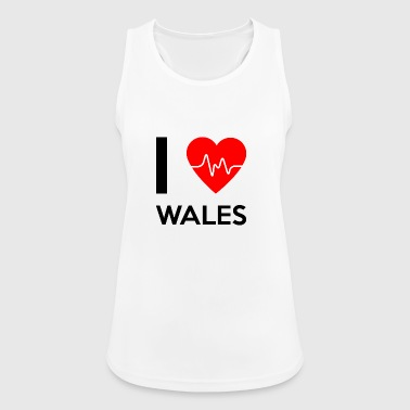 I Love Wales - I love Wales - Women's Breathable Tank Top