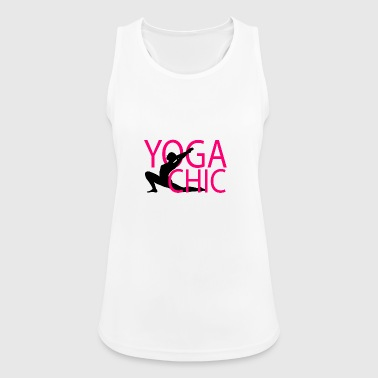 Yoga chic - Frauen Tank Top atmungsaktiv