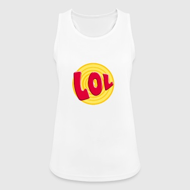 LOL - Pustende singlet for kvinner