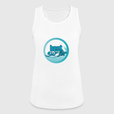 Surfer / Surfen: Best Surfer - Frauen Tank Top atmungsaktiv