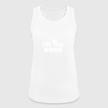 Who's the boss? - Women's Breathable Tank Top