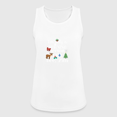 Morning person - Women's Breathable Tank Top