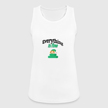 Everything is fine - Women's Breathable Tank Top