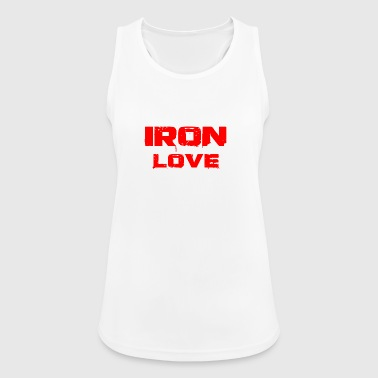 iron love red - Frauen Tank Top atmungsaktiv