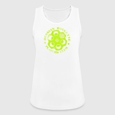 Russian Roulette Players Club Neon Vintage - Women's Breathable Tank Top