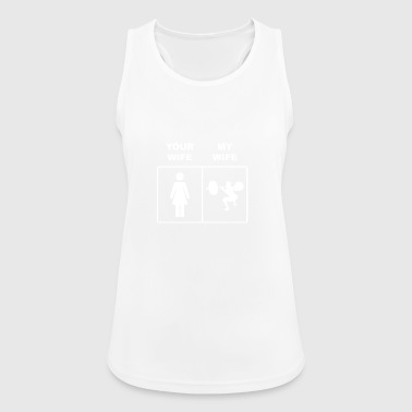 Your Wife Squats Lifting - Women's Breathable Tank Top
