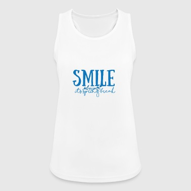 Spring Break / Springbreak: Smile - it's spring - Women's Breathable Tank Top