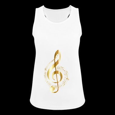Music note - Women's Breathable Tank Top