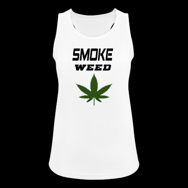 smoke weed - Women's Breathable Tank Top