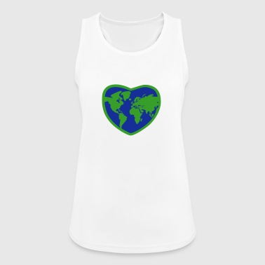 Earth Heart - Women's Breathable Tank Top