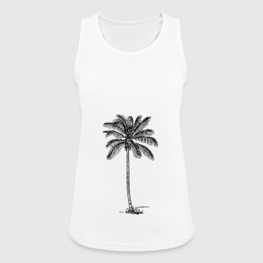 Palm tree - Women's Breathable Tank Top