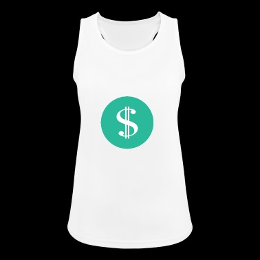 Dollar sign icon money - Women's Breathable Tank Top