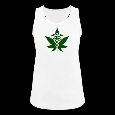 Caduceus in Grass - Women's Breathable Tank Top