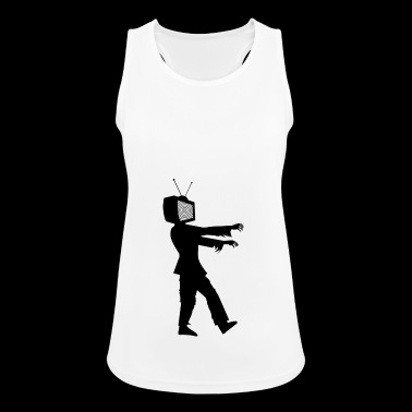 Zombie TV - Women's Breathable Tank Top